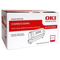 OKI - OKI 42126663 ORJİNAL KIRMIZI DRUM