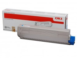 OKI - OKI 43837135 ORJİNAL MAVİ TONER