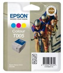 EPSON - EPSON C13T00501120 ORJİNAL RENKLİ KARTUŞ