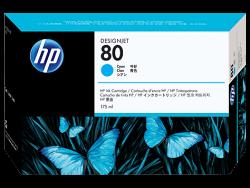 HP - HP C4872A ORJİNAL MAVİ KARTUŞ NO:80
