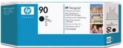 HP - HP C5054A ORJİNAL SİYAH KAFA+TEMİZLEYİCİ KARTUŞ NO:90