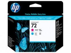 HP - HP C9383A ORJİNAL KIRIMIZI+MAVİ KAFA KARTUŞ NO:72