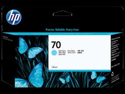 HP - HP C9390A ORJİNAL MAVİ KARTUŞ NO:70