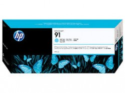 HP - HP C9470A ORJİNAL AÇIK MAVİ KARTUŞ NO:91