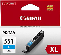 CANON - CANON CLI-551XL ORJİNAL MAVİ KARTUŞ