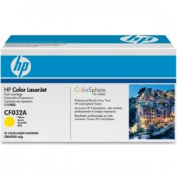 HP - HP CF032A ORJİNAL SARI TONER NO:646A