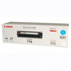 CANON - CANON CRG716C ORJİNAL MAVI TONER