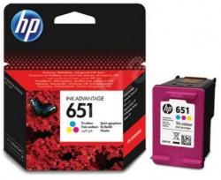 HP - HP C2P11AE ORJİNAL RENKLİ KARTUŞ NO:651