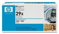 HP - HP C4129X ORJİNAL SİYAH TONER YÜK. KAP. NO:29X