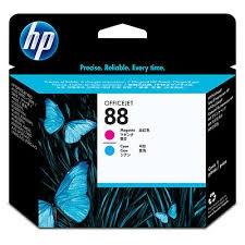 HP - HP C9382A ORJİNAL KIRMIZI+MAVİ KAFA KARTUŞ NO:88