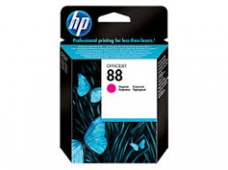 HP - HP C9387AE ORJİNAL KIRMIZI KARTUŞ NO:88