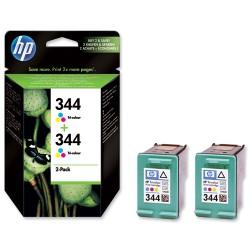 HP - HP C9505EE ORJİNAL ÇİFTLİ PAKET RENKLİ KARTUŞ NO:344