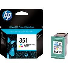 HP - HP 351 CB337EE Renkli Kartuş