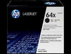 HP - HP CC364X ORJİNAL SİYAH TONER YÜK. KAP. NO:64X