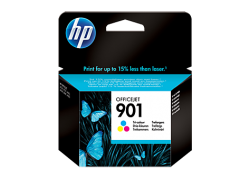 HP - HP CC656AE ORJİNAL RENKLİ KARTUŞ NO:901
