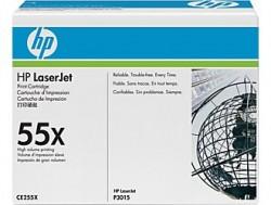 HP - HP CE255X ORJİNAL SİYAH TONER YÜK. KAP. NO:55X