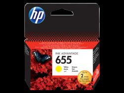 HP - HP 655 CZ112AE Sarı Kartuş