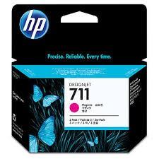 HP - HP CZ135A ORJİNAL KIRMIZI 3'LÜ PAKET KARTUŞ NO:711