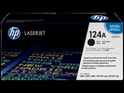 HP - HP Q6000A ORJİNAL SİYAH TONER NO:124A