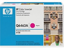 HP - HP Q6463A ORJİNAL KIRMIZI TONER