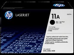 HP - HP Q6511A ORJİNAL SİYAH TONER NO:11A
