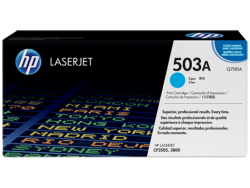 HP - HP Q7581A ORJİNAL MAVİ TONER NO:503A