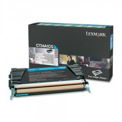 LEXMARK - LEXMARK C734A1CG ORJİNAL MAVİ TONER