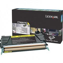 LEXMARK - LEXMARK C746A1YG ORJİNAL SARI TONER