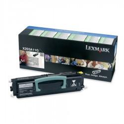 LEXMARK - LEXMARK X203A11G ORJİNAL SİYAH TONER 2500 SAYFA