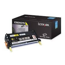 LEXMARK - LEXMARK X560H2YG ORJİNAL SARI TONER 10000 SAYFA