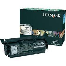 LEXMARK - LEXMARK X651H11E ORJİNAL SİYAH TONER YÜK. KAP.