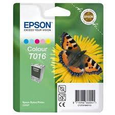 EPSON - EPSON T016401 ORJİNAL RENKLİ KARTUŞ