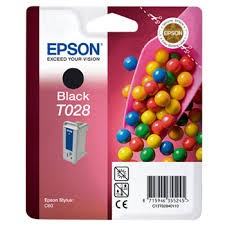 EPSON - EPSON T028401 ORJİNAL SİYAH KARTUŞ