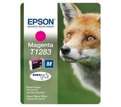 EPSON - EPSON T12834021 ORJİNAL KIRMIZI KARTUŞ