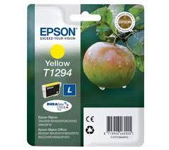 EPSON - EPSON T12944021 ORJİNAL SARI KARTUŞ