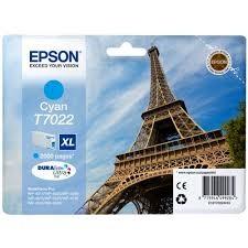 EPSON - EPSON T70224010 ORJİNAL MAVİ KARTUŞ