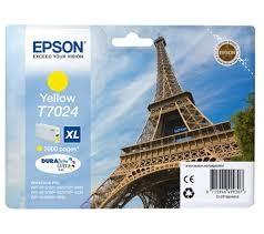 EPSON - EPSON T70244010 ORJİNAL SARI KARTUŞ
