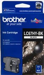 BROTHER - BROTHER LC-67HYBK ORİJİNAL SİYAH KARTUŞ YÜK.KAP.