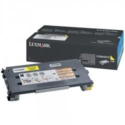 LEXMARK - LEXMARK C500H2YG ORJİNAL SARI TONER 3000 SAYFA