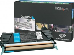 LEXMARK - LEXMARK C5240CH ORJİNAL MAVİ TONER NO:C524