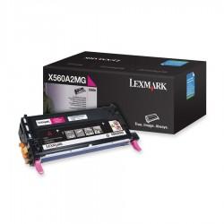 LEXMARK - LEXMARK X560A2MG ORJİNAL KIRMIZI TONER 4000 SAYFA