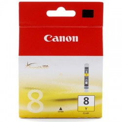 CANON - CANON CLI-8Y ORJİNAL SARI KARTUŞ