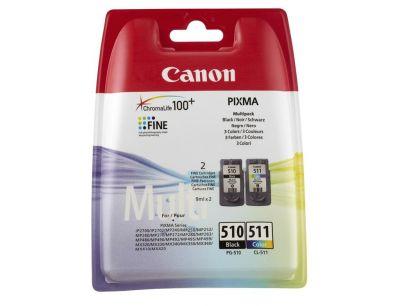 Canon PG-510+CL-511 2'li Kartuş