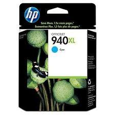HP - HP 940XL C4907AE Mavi Kartuş