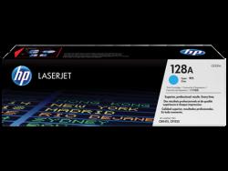 HP CE321A ORJİNAL MAVİ TONER NO:128A - Thumbnail