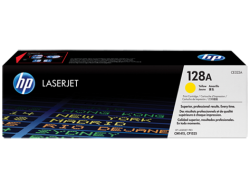 HP - HP CE322A ORJİNAL SARI TONER NO:128A