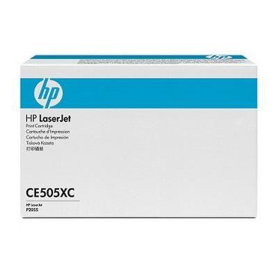 HP CE505XC ORJİNAL SİYAH TONER YÜK. KAP. NO:05XC