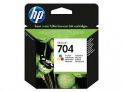 HP 704 CN693AE Renkli Kartuş - Thumbnail