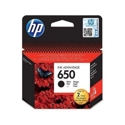 HP 650 ORJİNAL SİYAH KARTUŞ CZ101AE