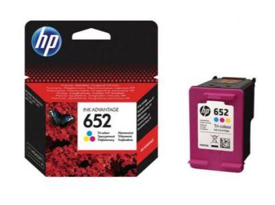 HP 652 F6V24AE Renkli Kartuş